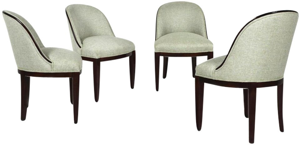 Set of Four Chairs, Austria, early 20th C.