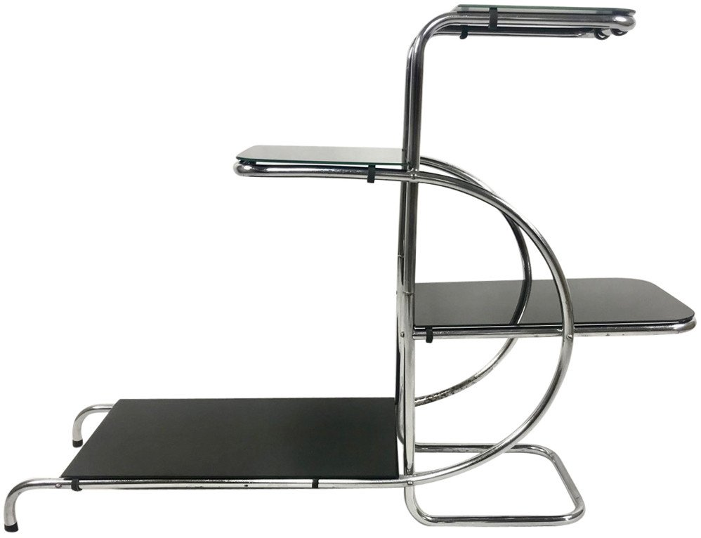 Etagere by E. Guyot for Thonet, Czech Republic, 1940s