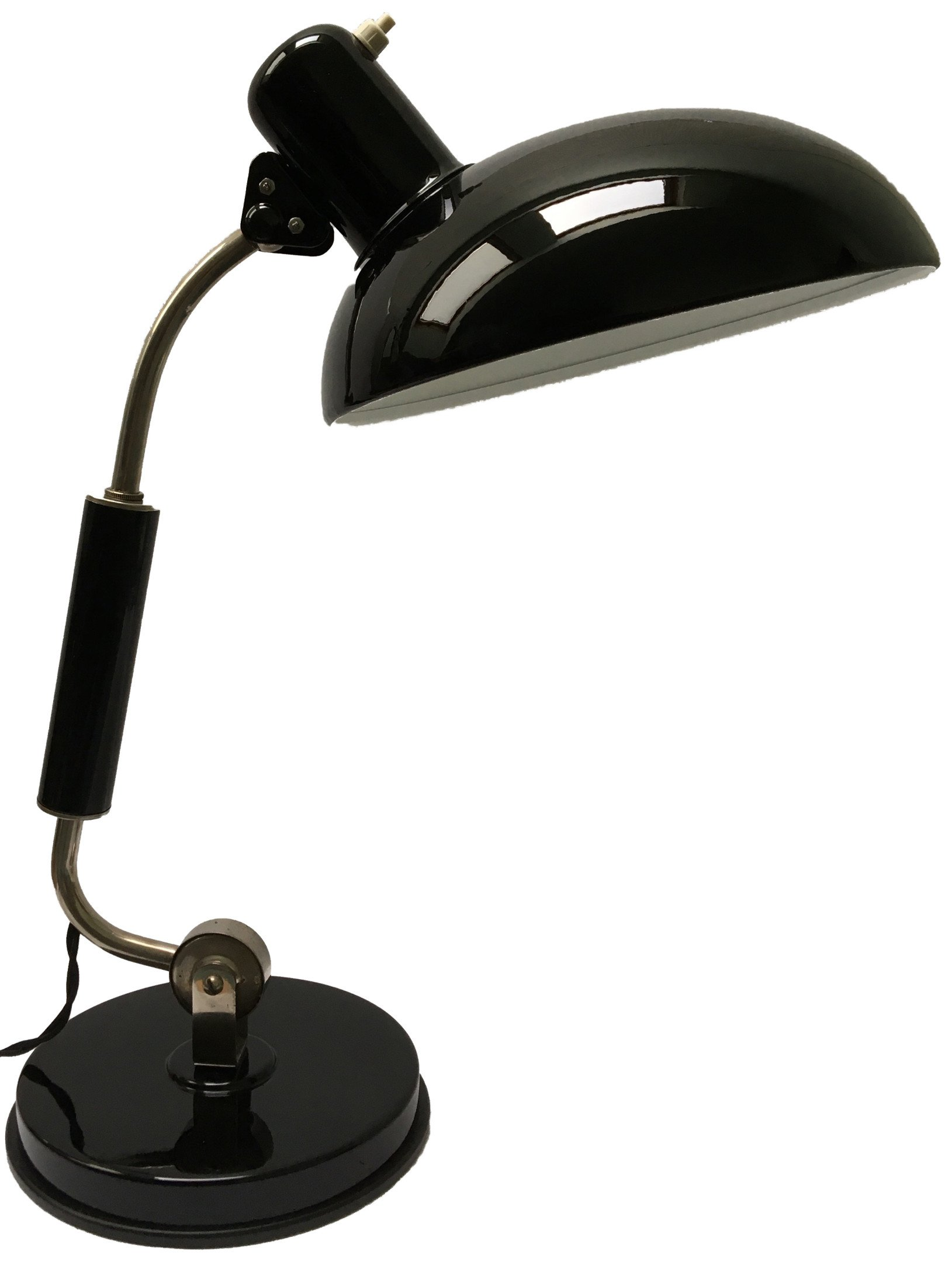 Desk Lamp by Ch. Dell for Koranda, 1940s