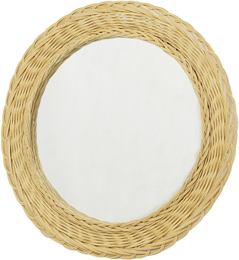 Mirror in a Wicker Frame, 1970s