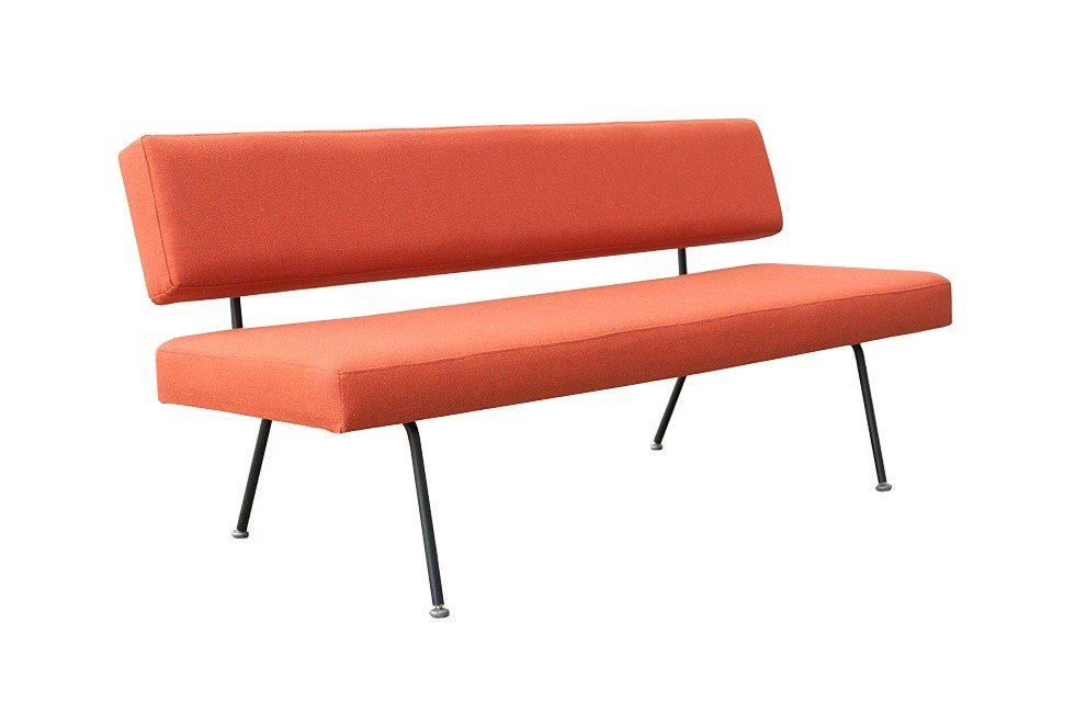 Sofa model 32,  proj. F. Knoll, Knoll International, lata 50.