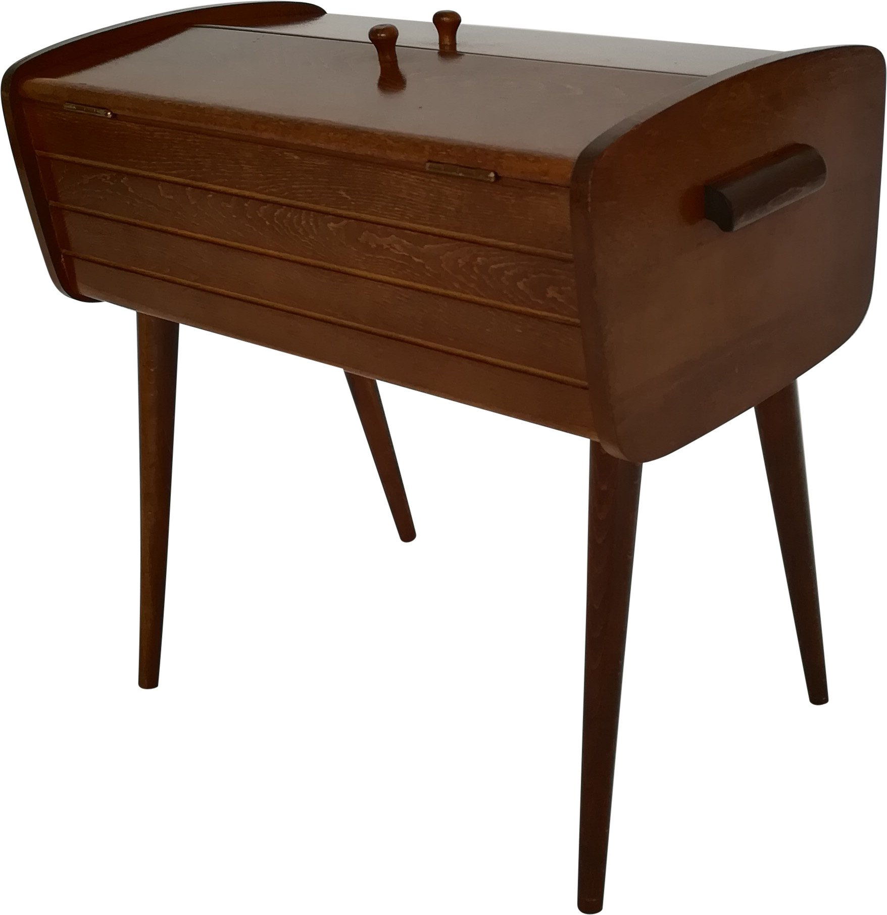 Wooden Sewing Chest, 1960s