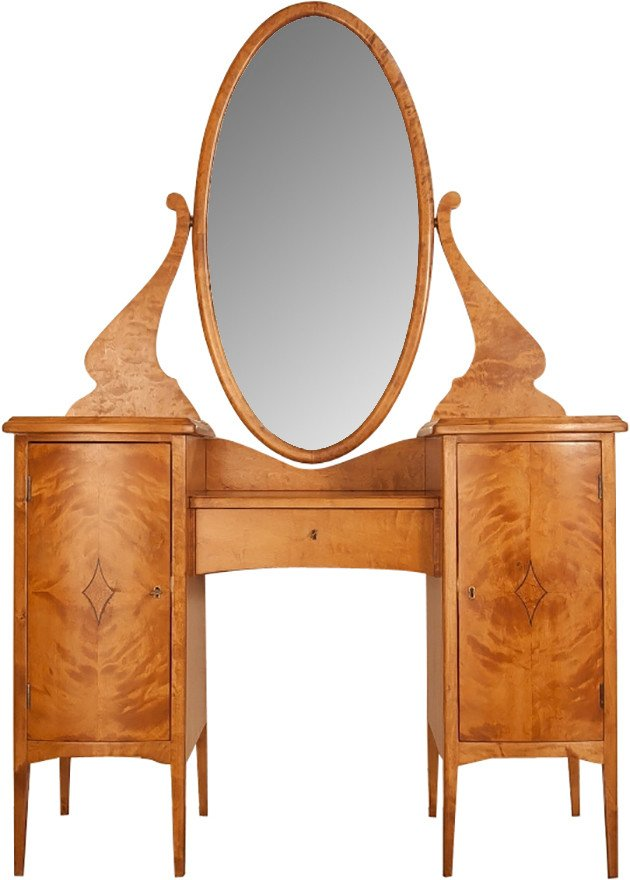 Art Nouveau Dressing Table, 1920s