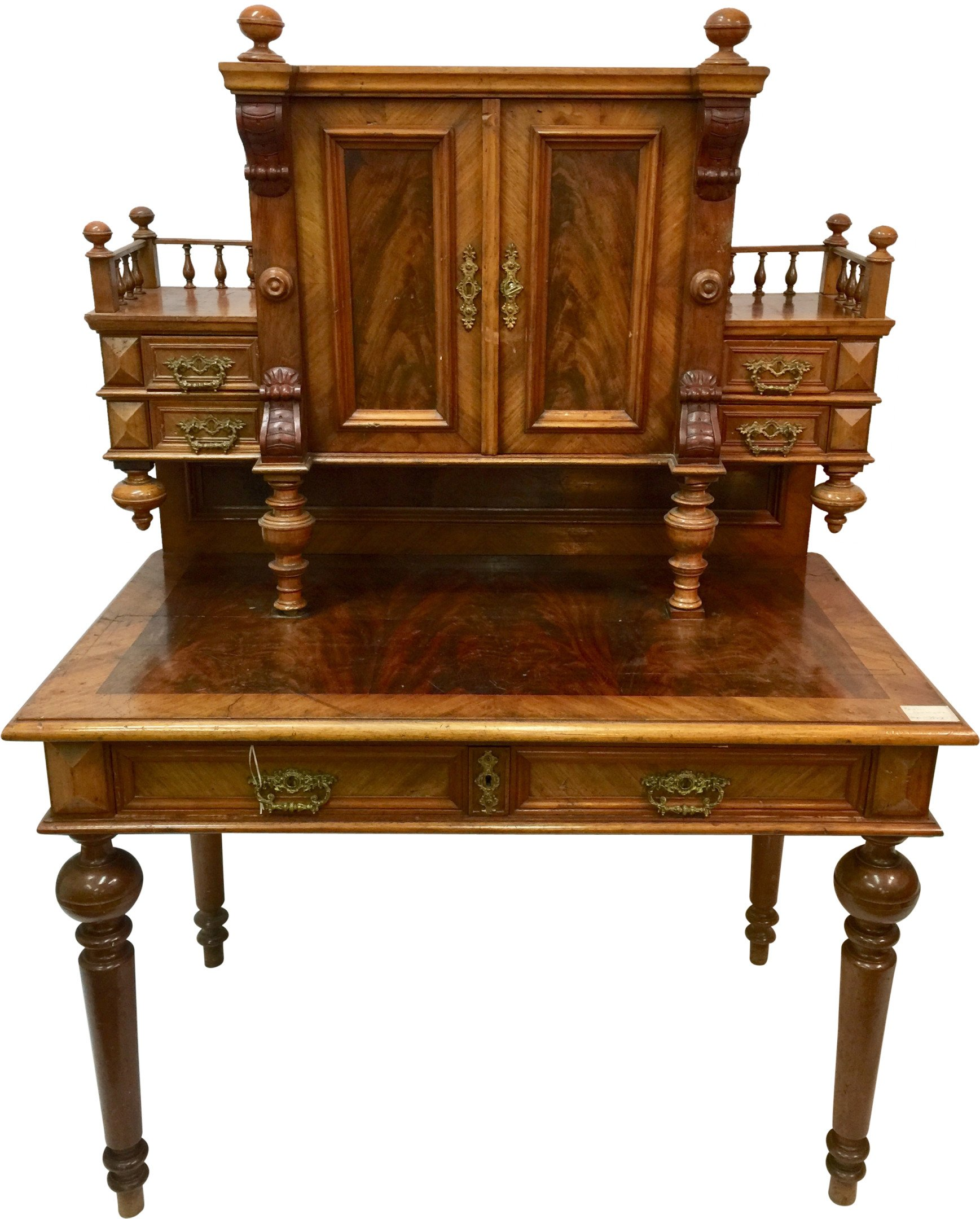Eclectic secretary, end of 19th c.