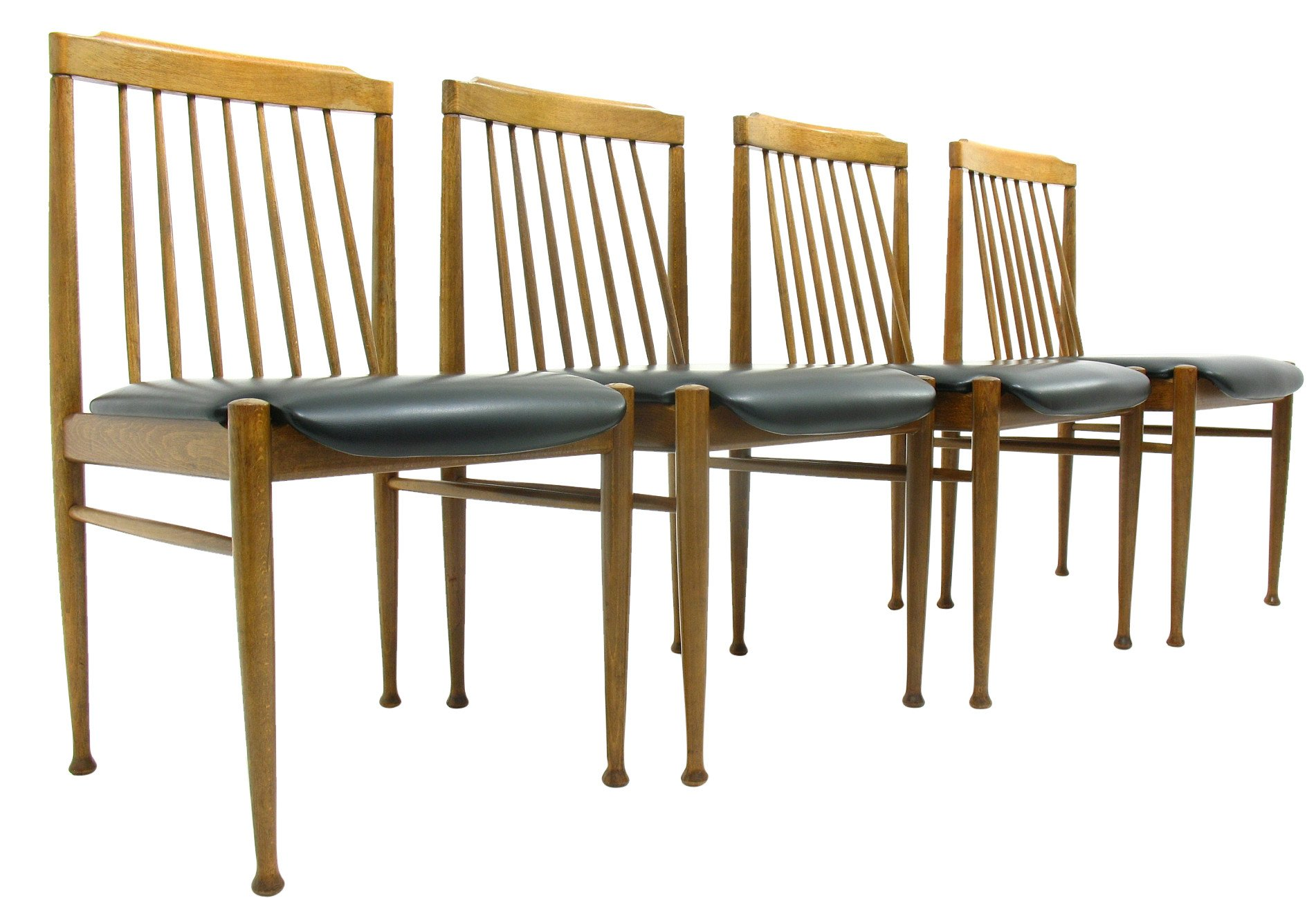 Set of Four Chairs, 1970s