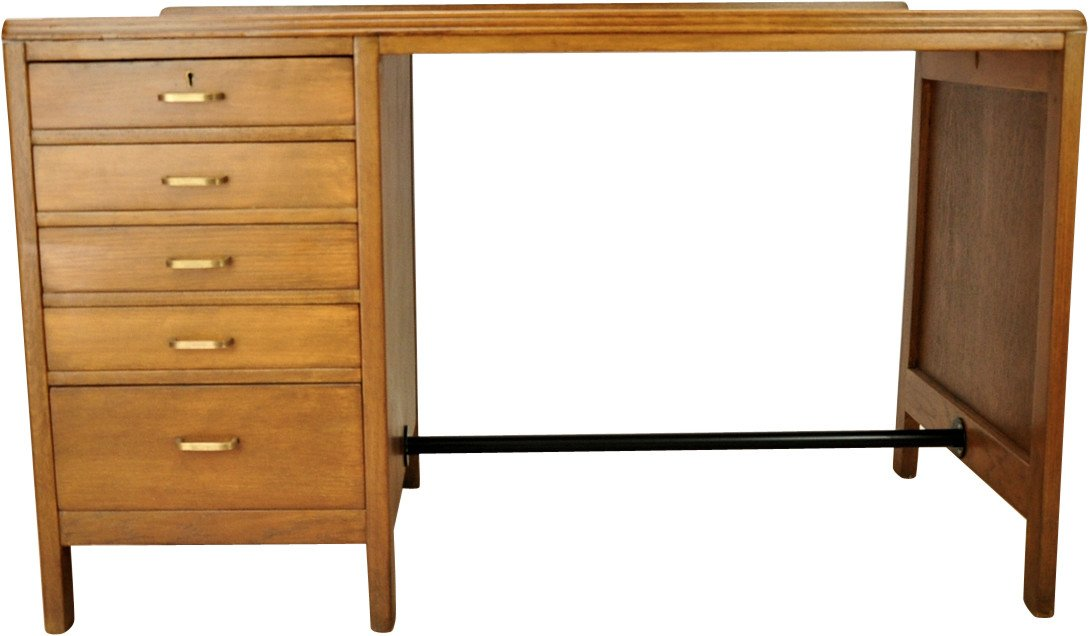 Oak Desk, United Kingdom, 1960s