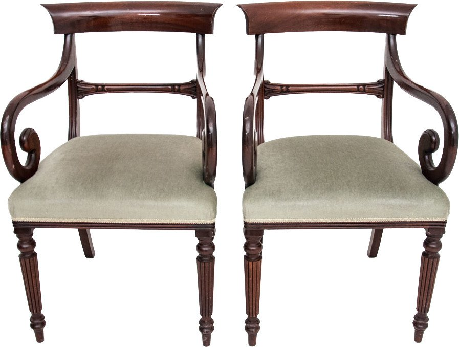 Pair of Armchairs, early 20th C.