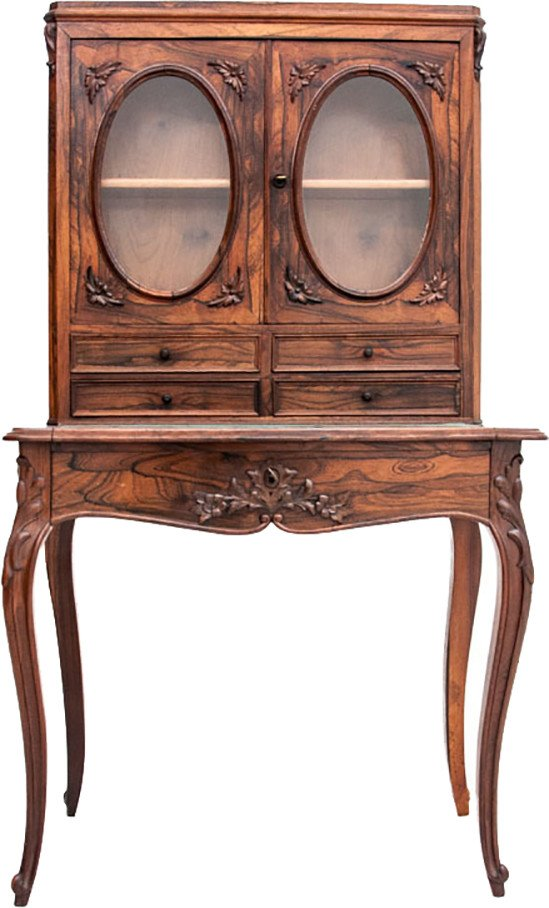 Rosewood Desk, 19th C.