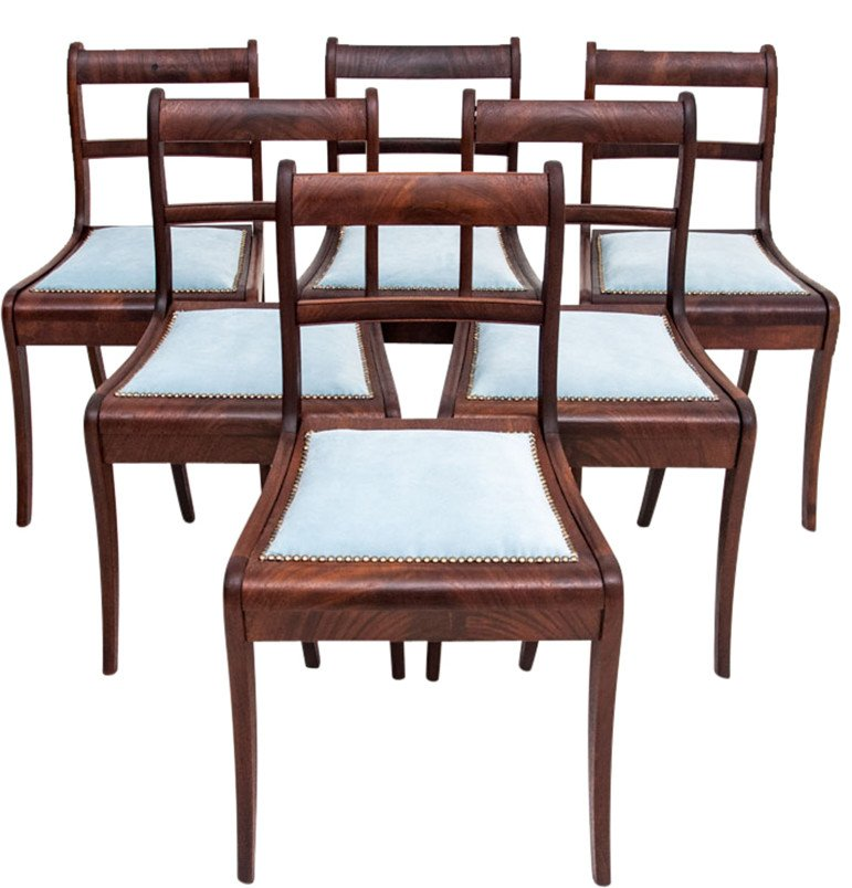 Set of Six Chairs, 1920s