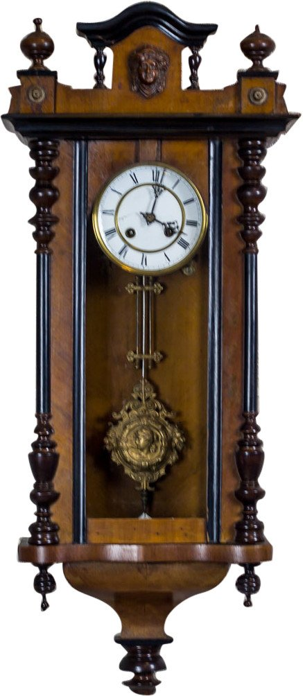Wall Clock, 19th C.