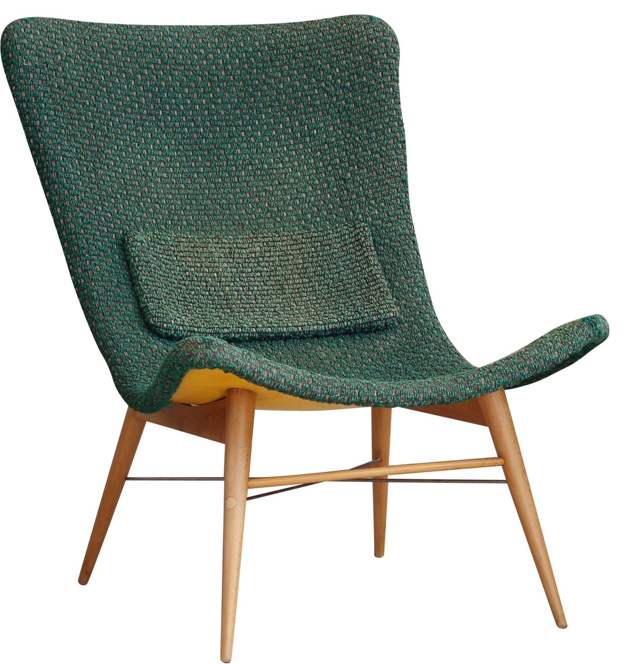 Armchair by M. Navratil, Czech Republic, 1960s