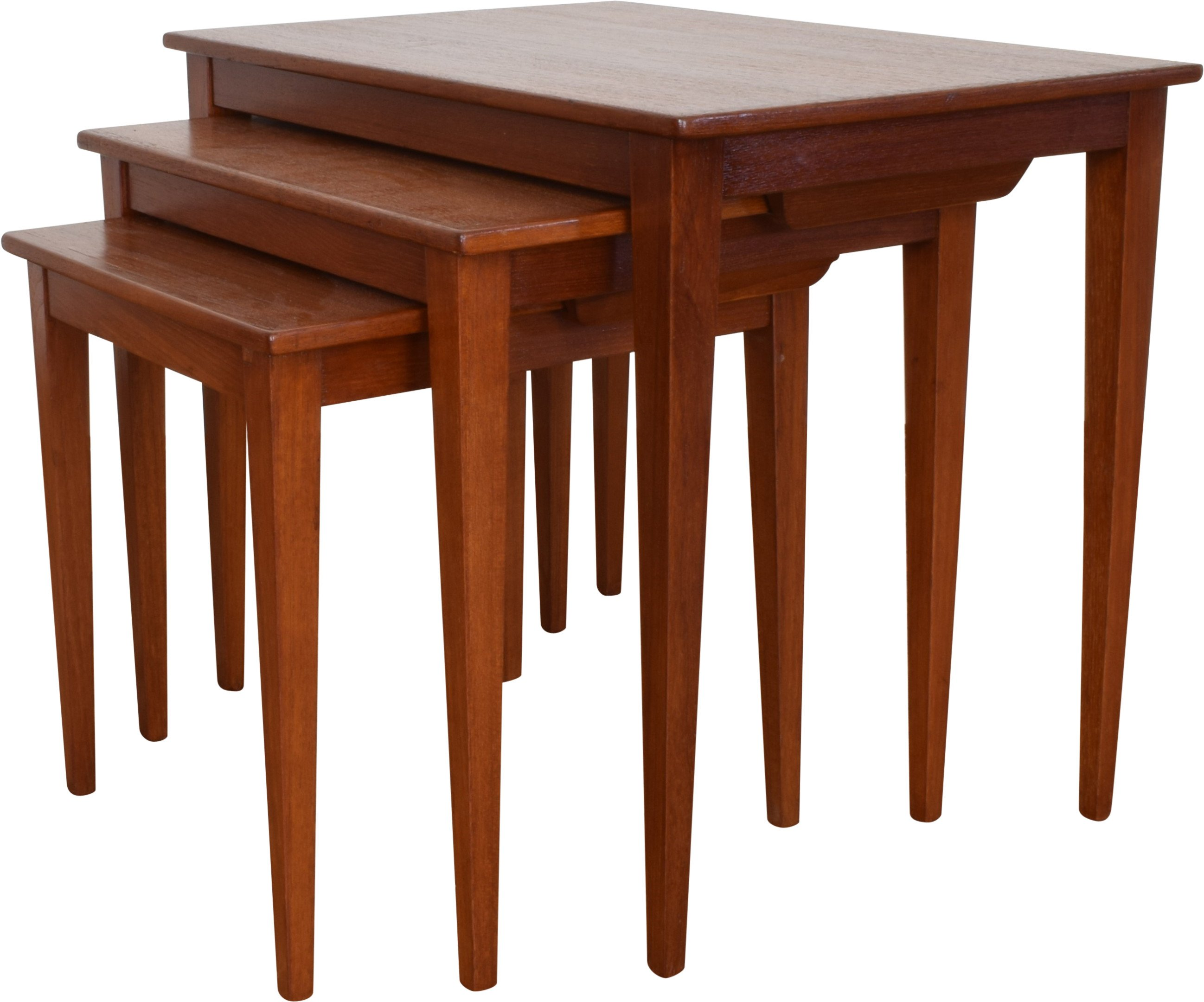 Set of Three Tables, Kvalitet Form Funktion, Denmark, 1960s