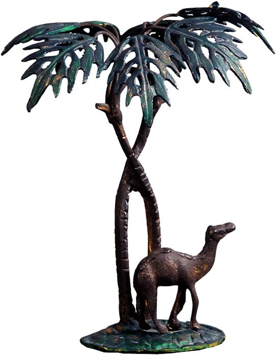 Figure of a Palm with a Camel, 1940s