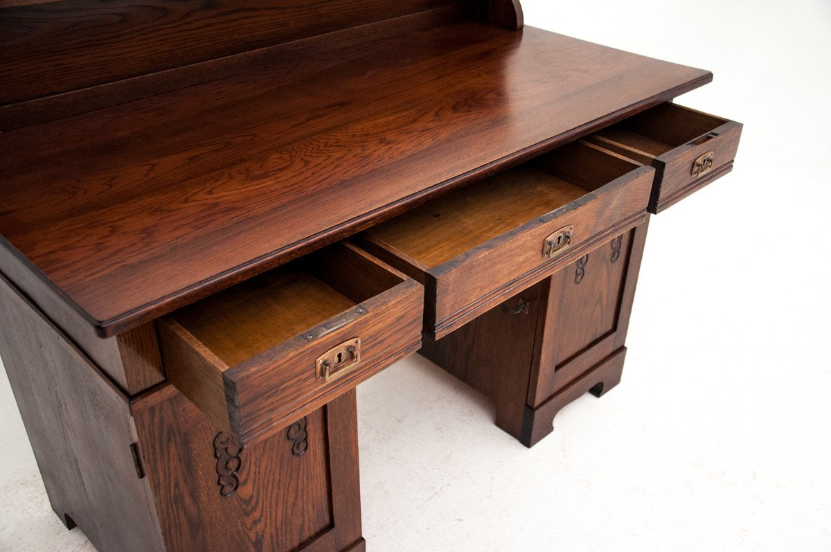 Oak Desk, early 20th C.
