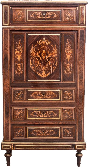 Secretaire in the Style of Louis, 19th C.