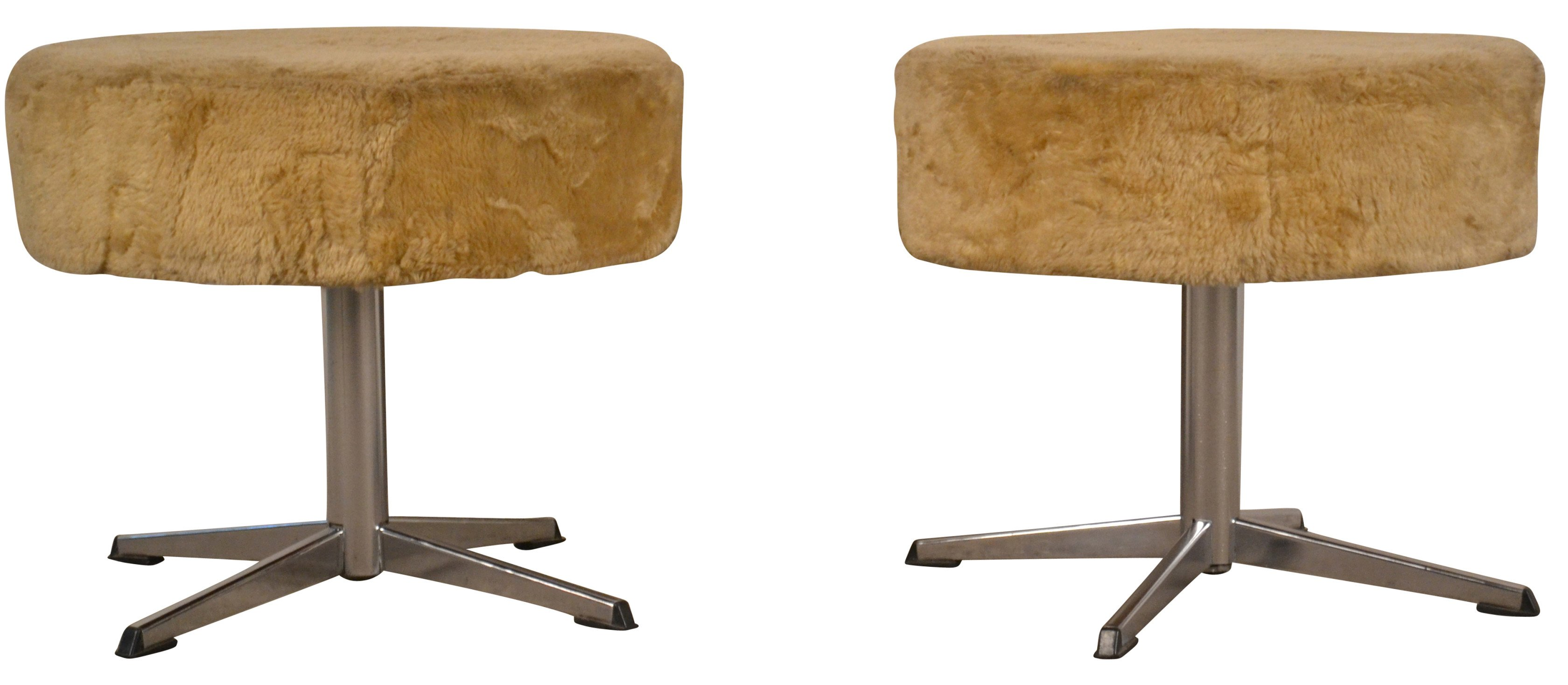 Pair of Stools, 1970s
