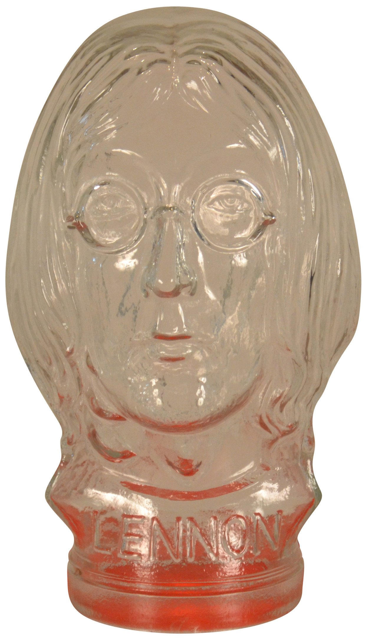Glass Head Figure of John Lennon, 1970s