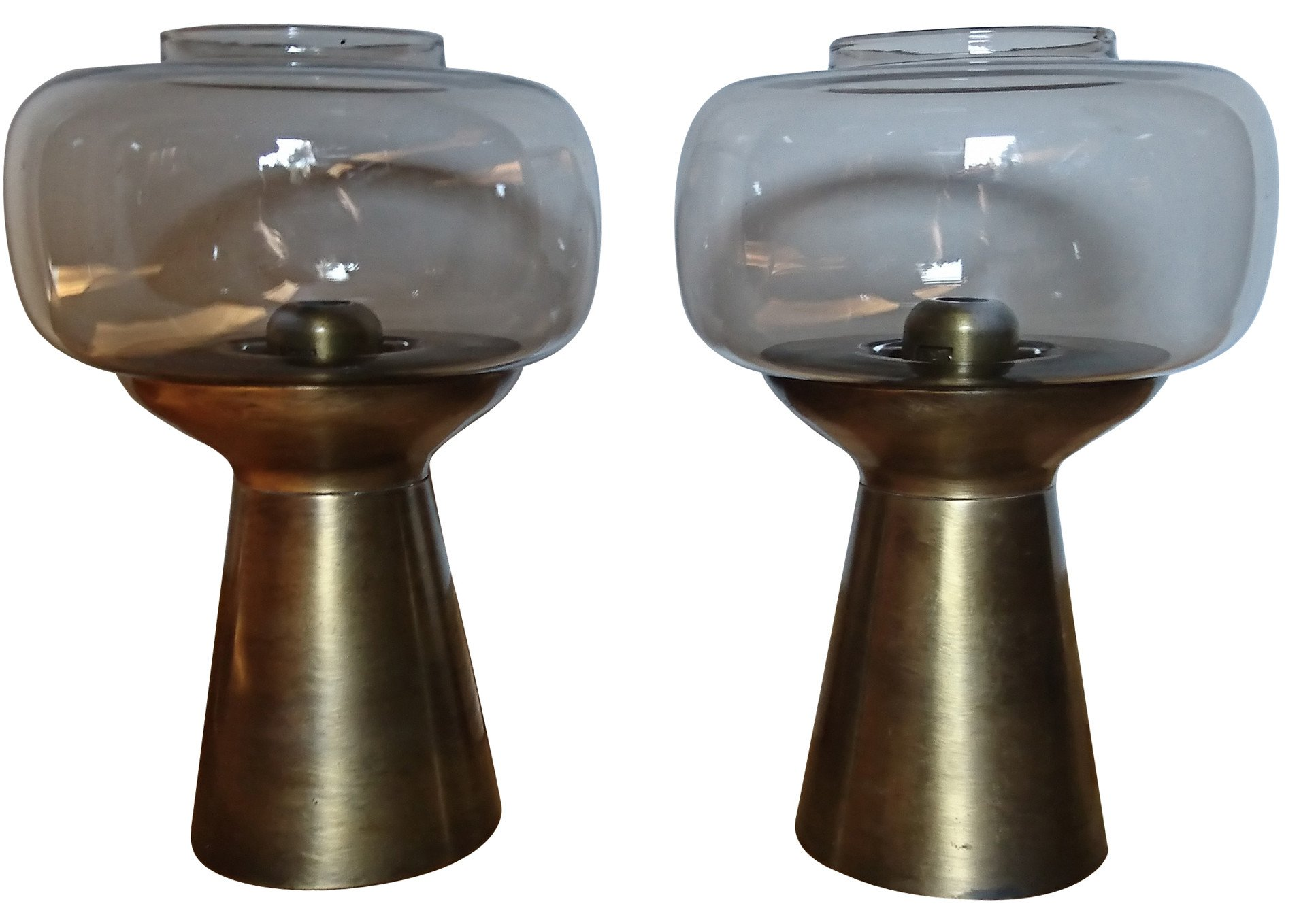 Pair of Candleholders, Fohl, Germany, 1960s