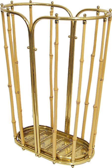 Umbrella Stand by C. Aubock, Austria, 1950s