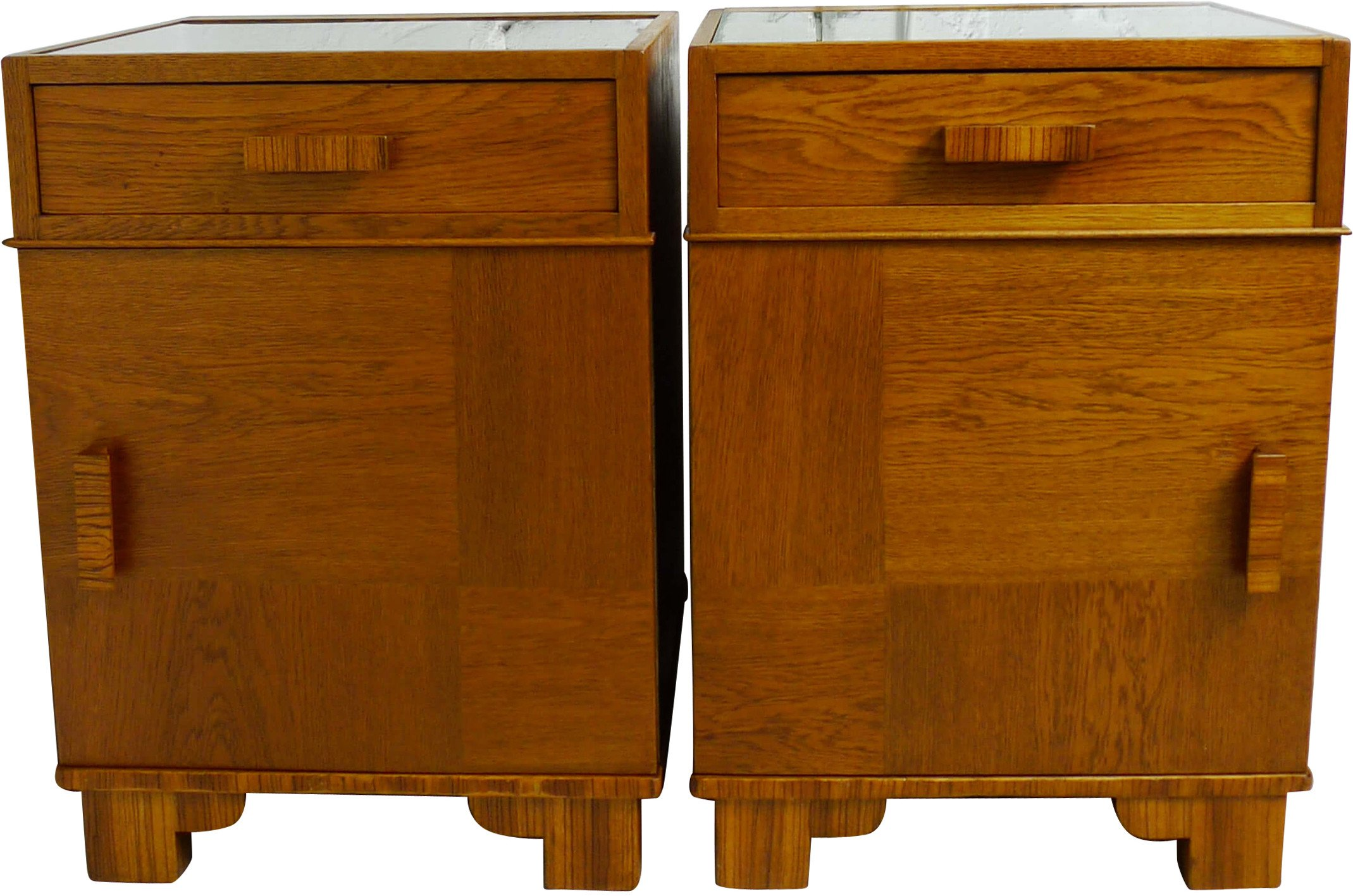 Pair of Bedside Cabinets, 1930s