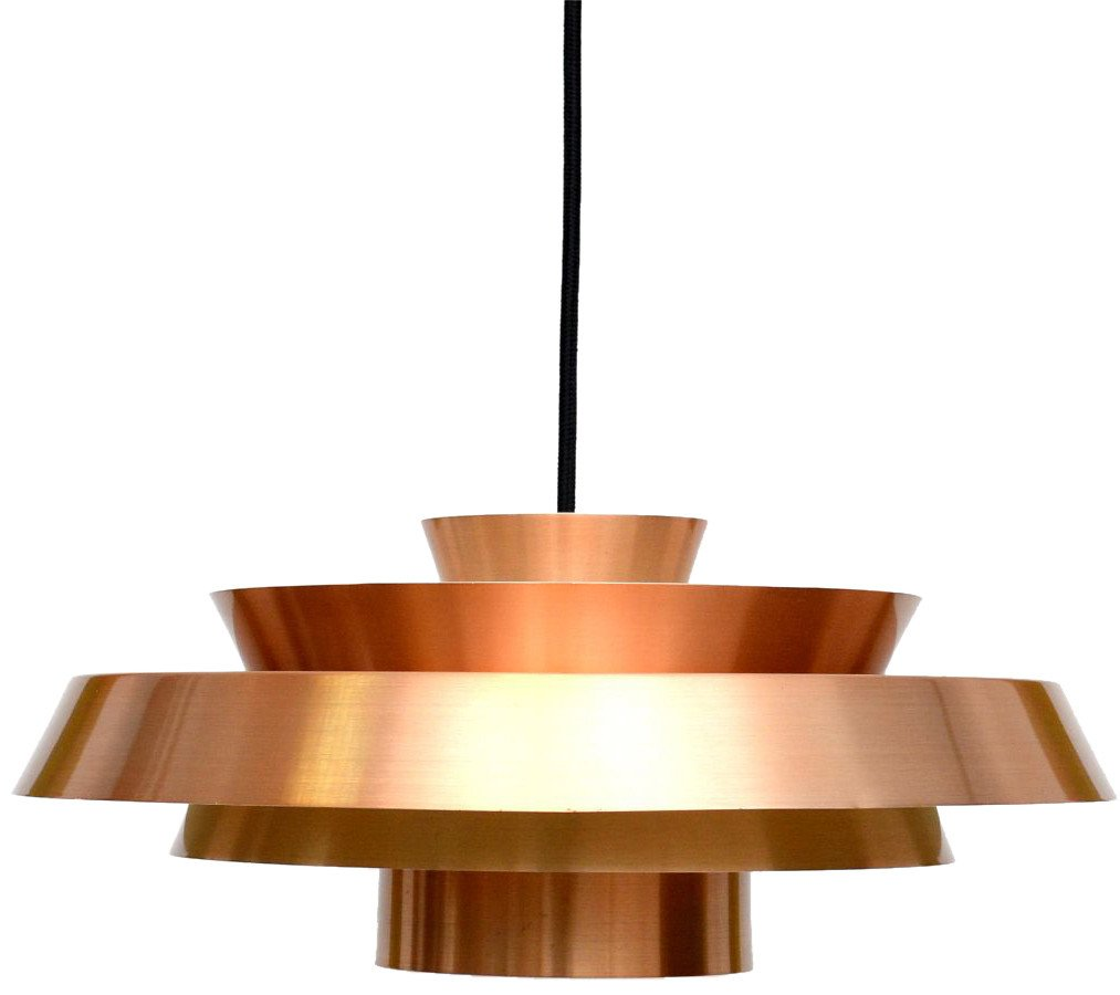 Copper Lamp, 1960s