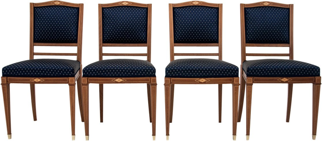 Set of Four Chairs, 1920s