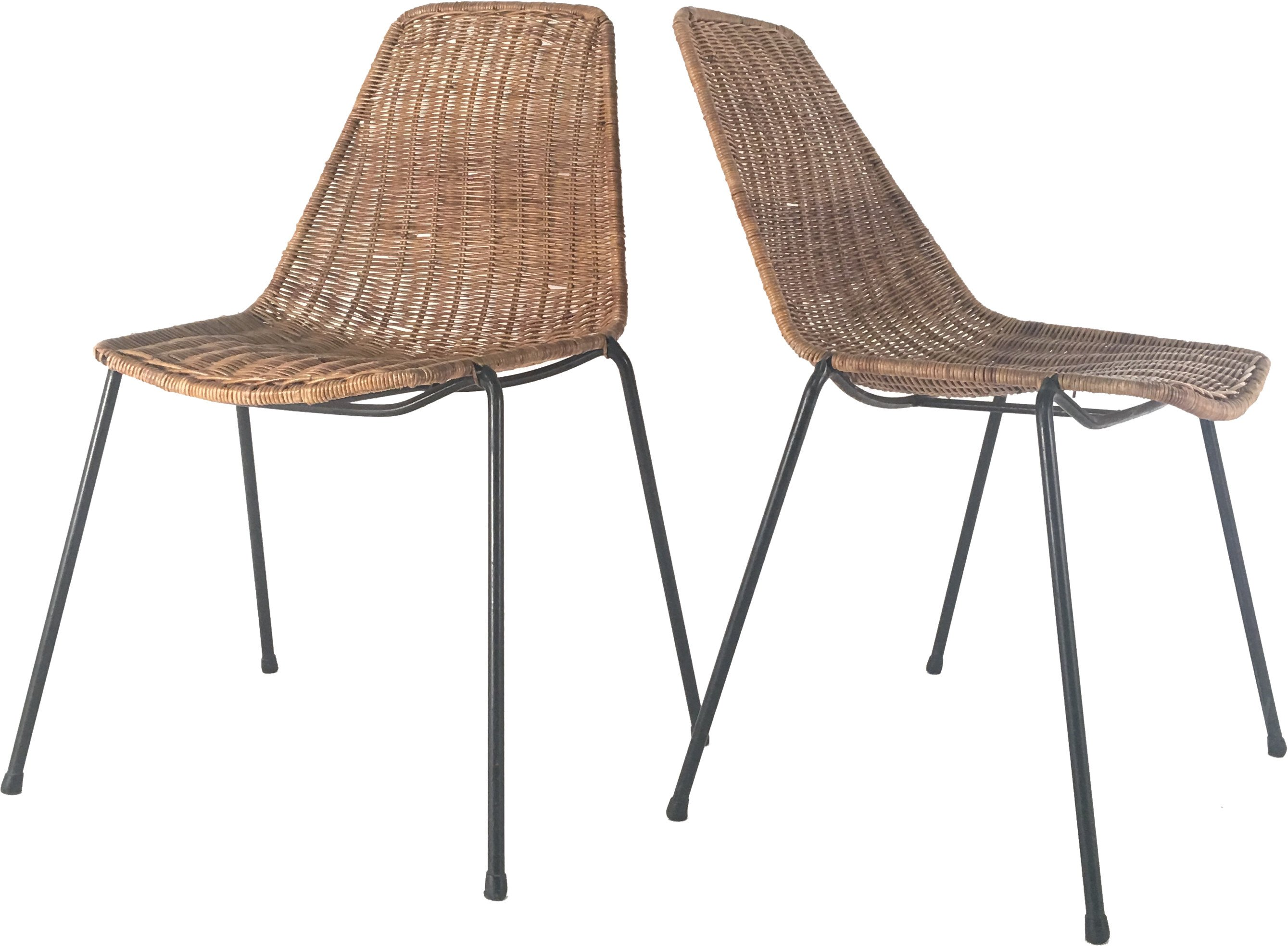 Pair of Chairs by G. F. Legler, Bonacina, 1950s