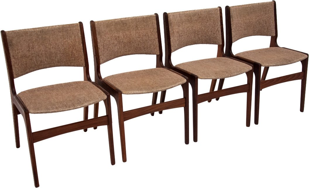 Set of Four Chairs by J. Andersen, 1960s