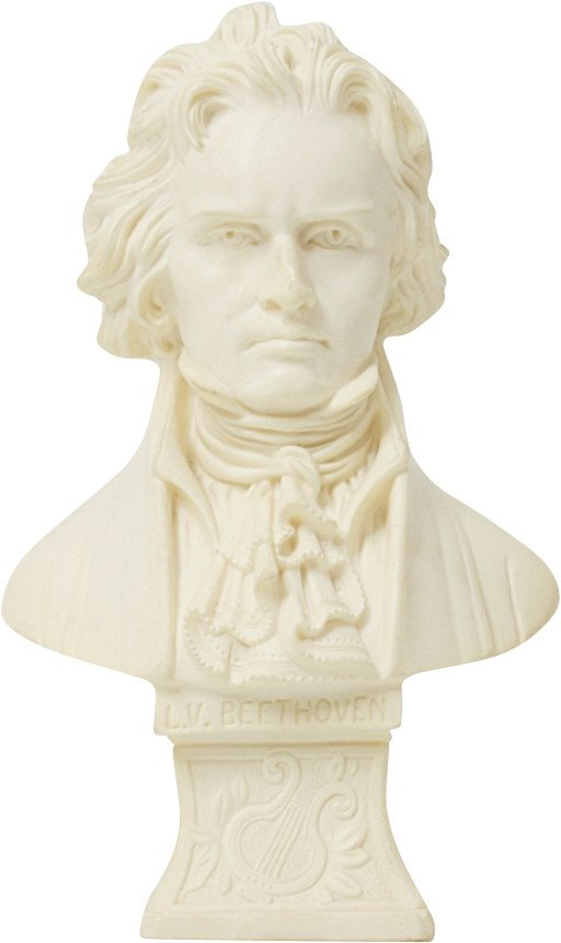 Bust of Beethoven, Italy, 1970s