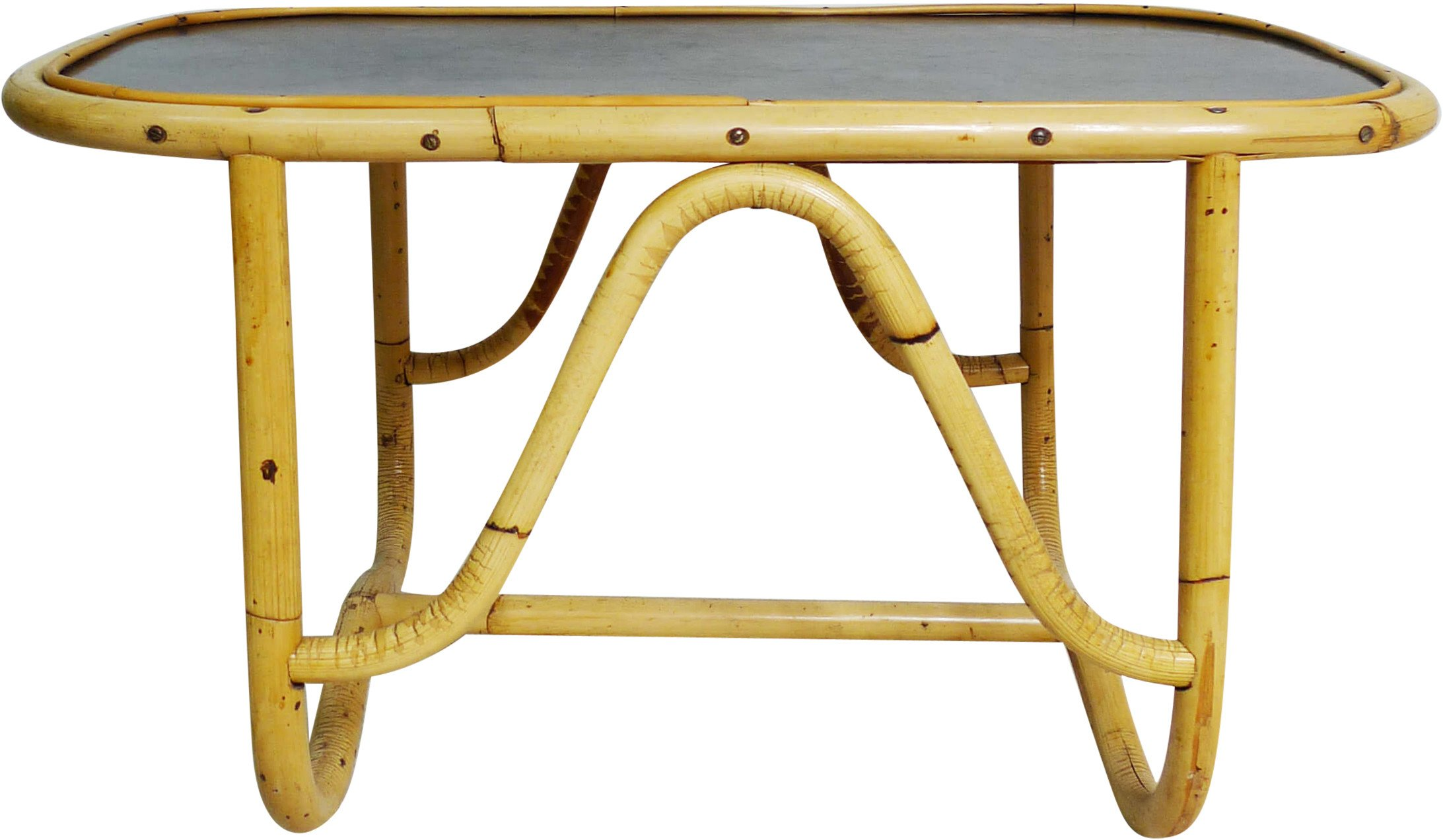 Bamboo Coffee Table, Germany, 1960s