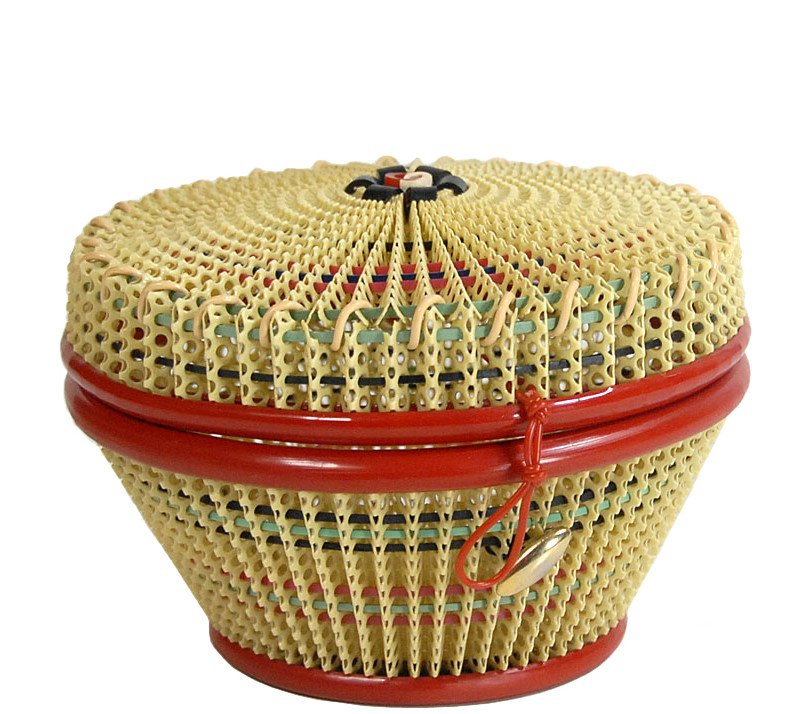 Braided Container, France, 1960s