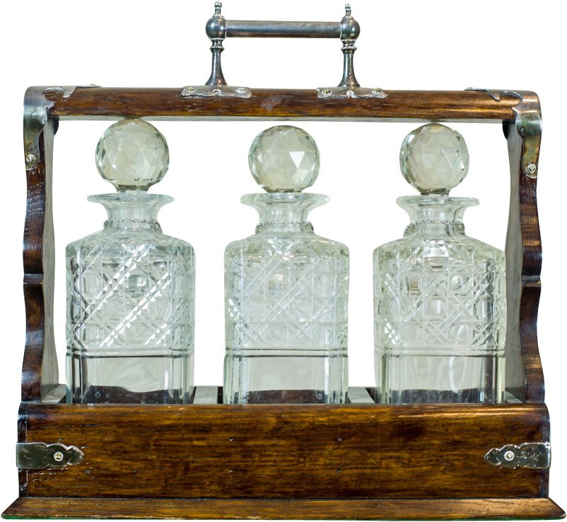 Alcohol Decanter Cartridge, Great Britain, early 20th C.