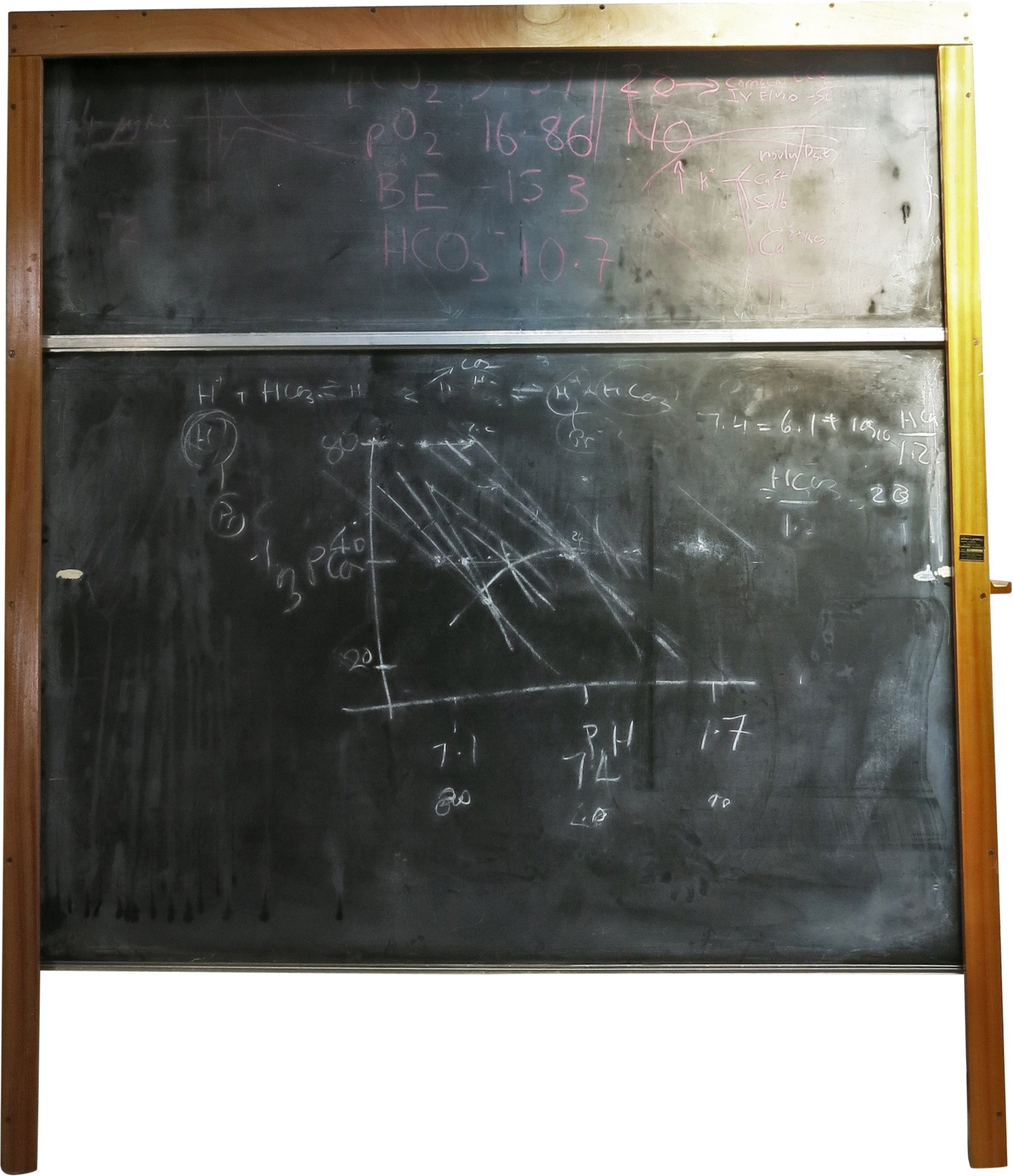 School Revolving Roll Blackboard from Wilson and Garden, Great Britain, 1950s