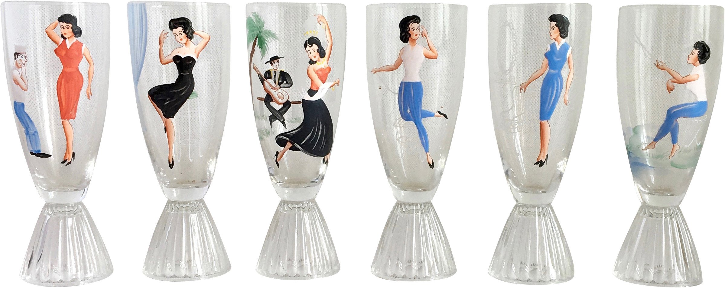 St of Six Glasses, 1960s