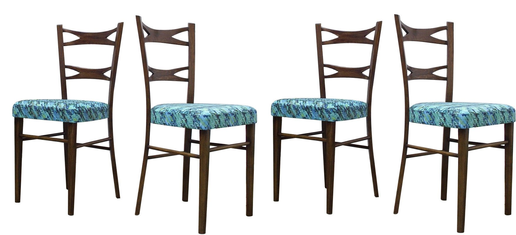Set of Four Chairs, Muebles Mocholi, Spain, 1960s