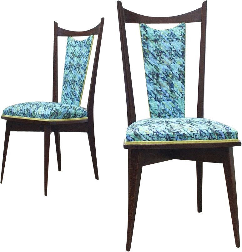 Set of Two Chairs, France, 1960s
