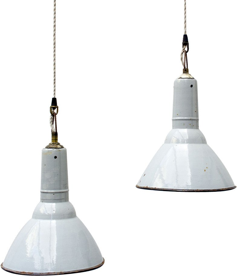 Industrial Pendant Lamp, 1960s