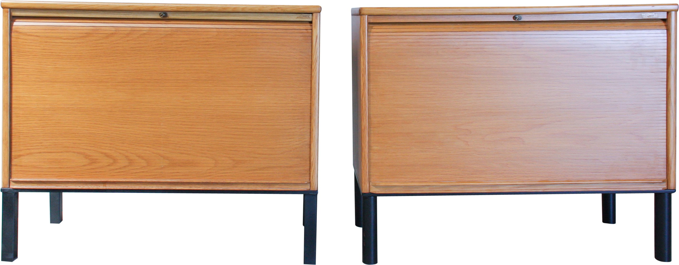 Pair of Oak Cabinets, Great Britain, 1970s