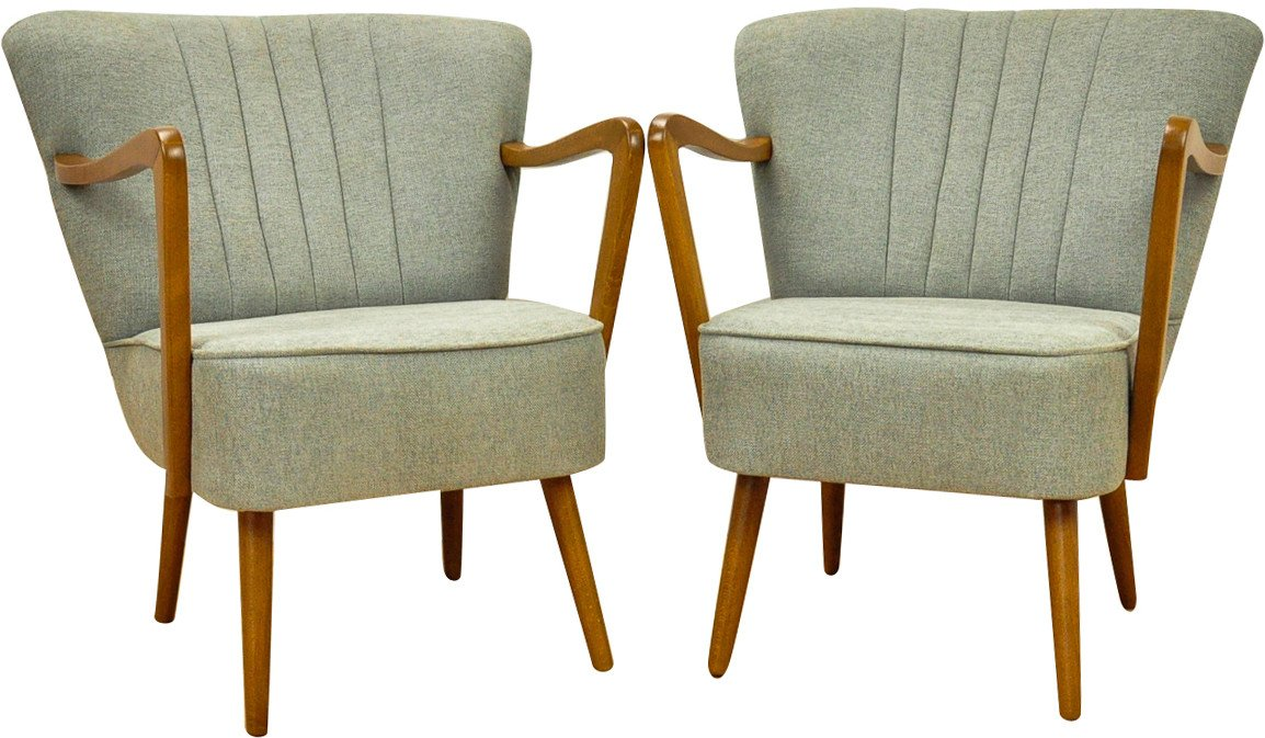 Pair of Armchairs, 1950s