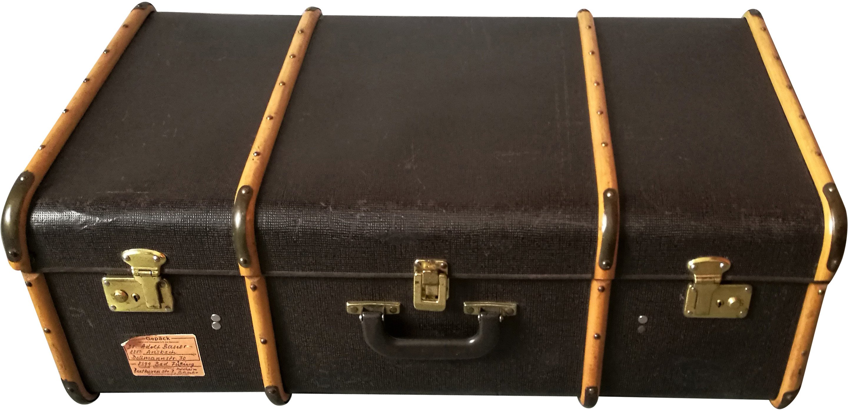 Travel Suitcase, 1940s