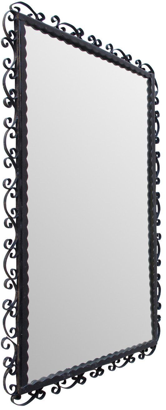 Wall Mirror in a Metal Frame, 1960s