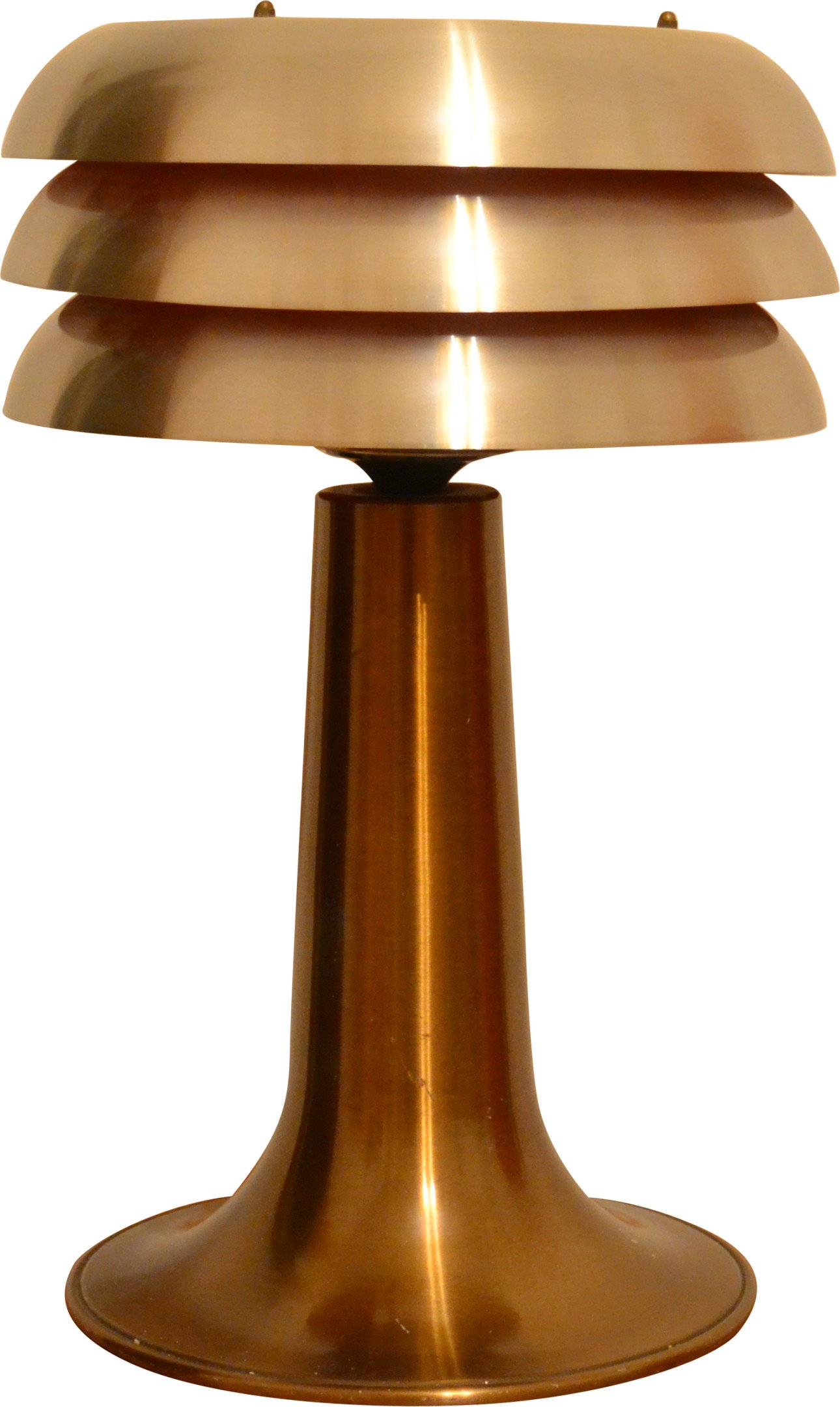 Bn-25 Table Lamp by H.A. Jakobsson, AB Markaryd, 1960s
