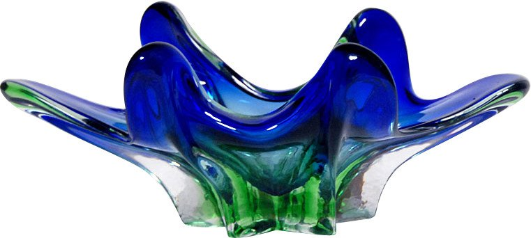Pedestal Plate, Murano, Italy, 1960s