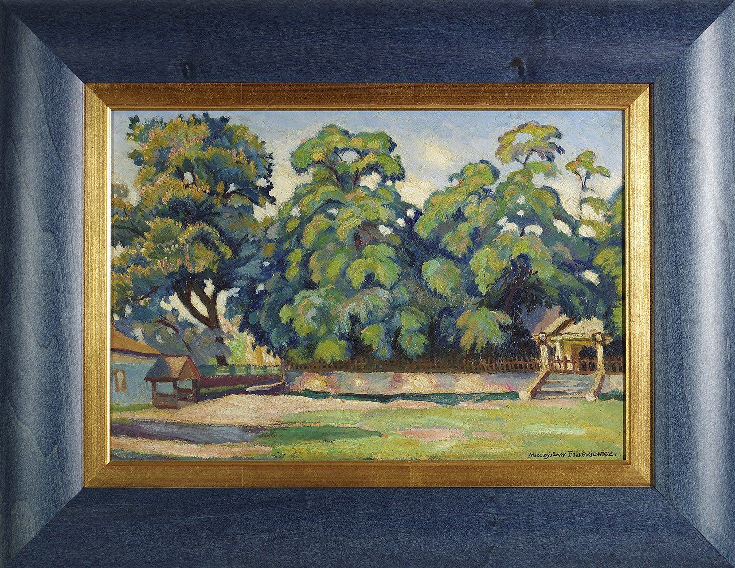 Oil Painting by M. Filipkiewicz, Early 20th C.
