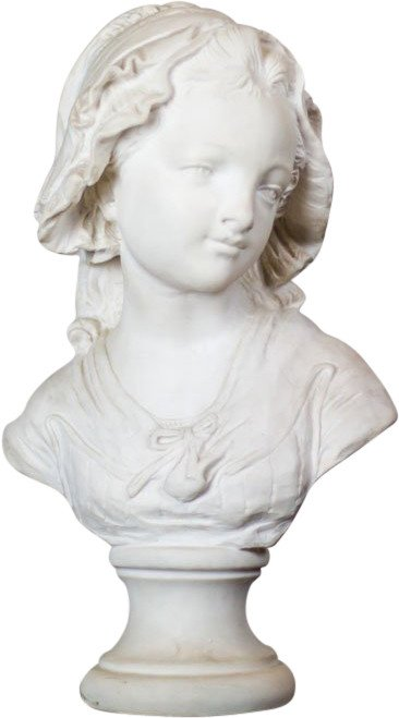 Bust of Woman, France, 20th C.