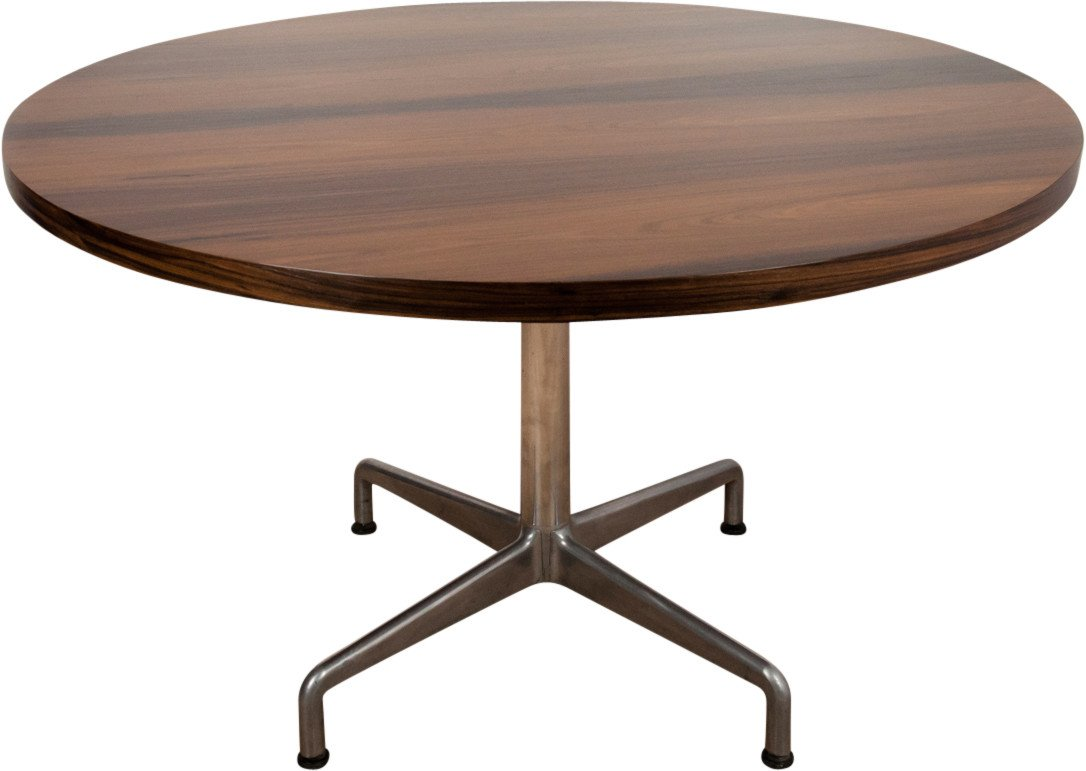 Round Rosewood table, Denmark, 1960s