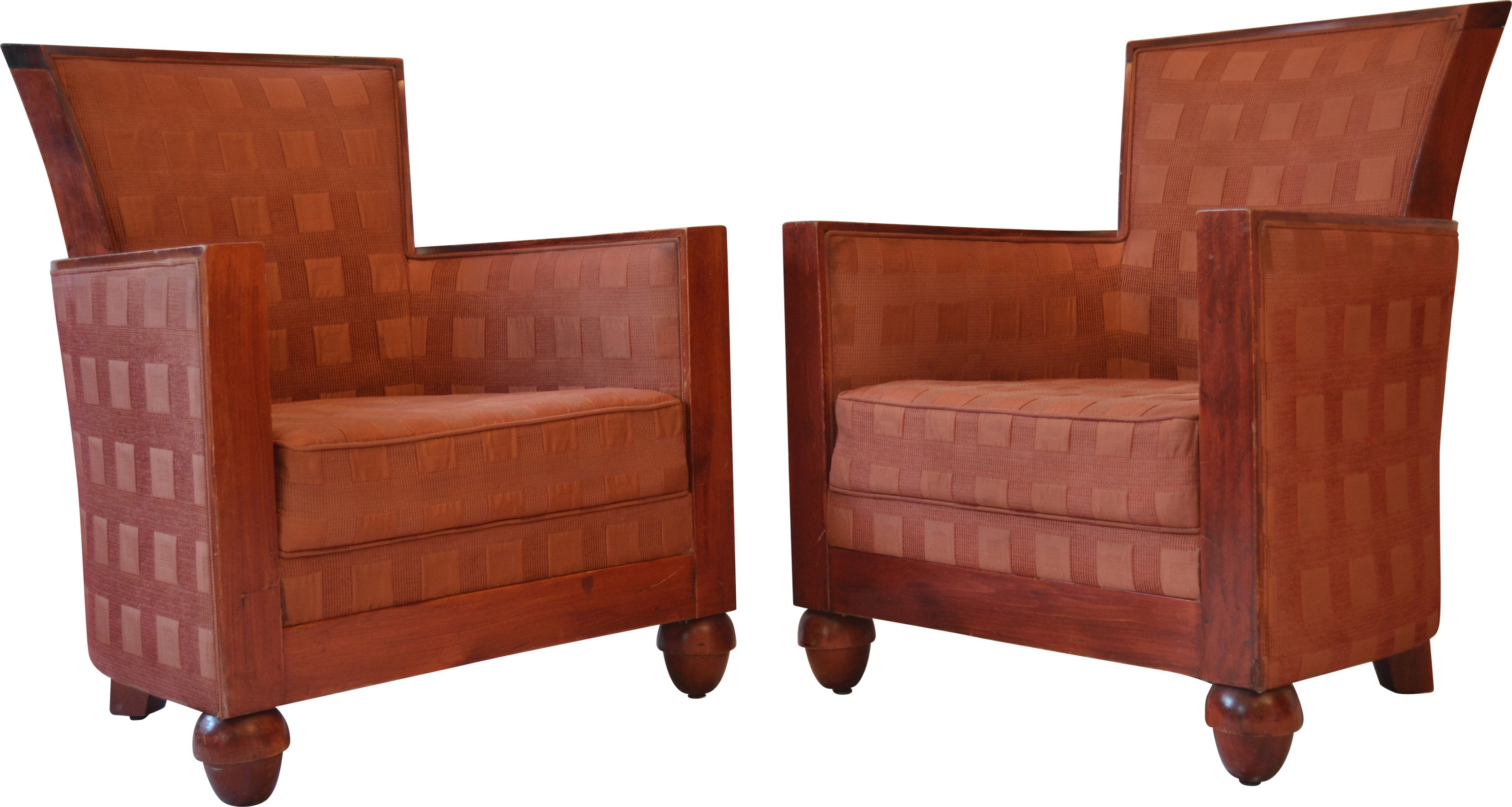 Pair of Armchairs, Rosello of Paris, France, 1960s