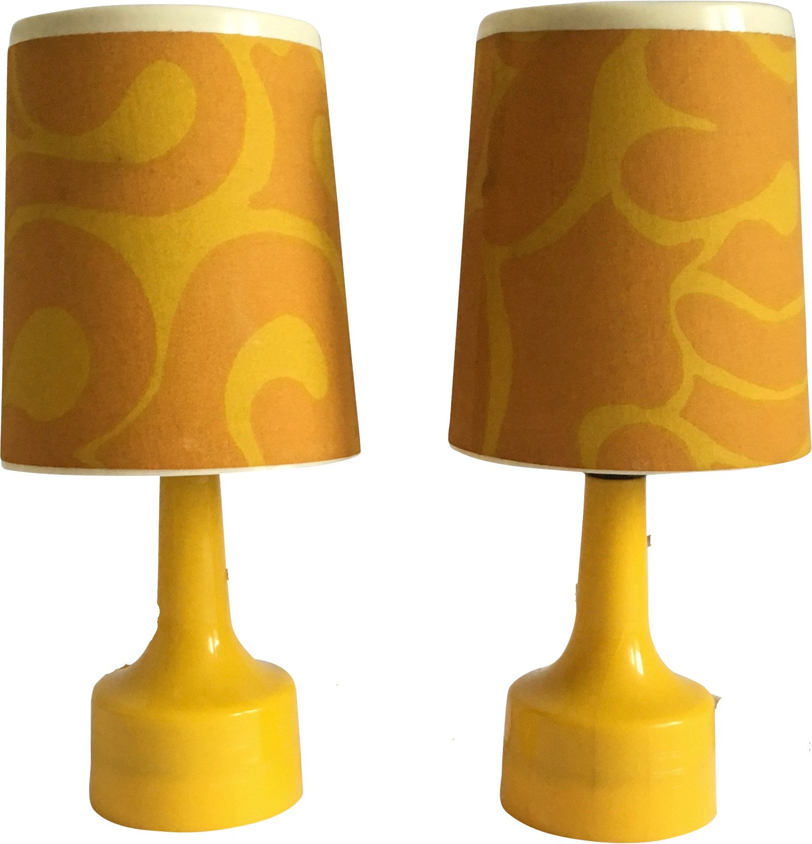 Pair of Night Lamps, 1970s