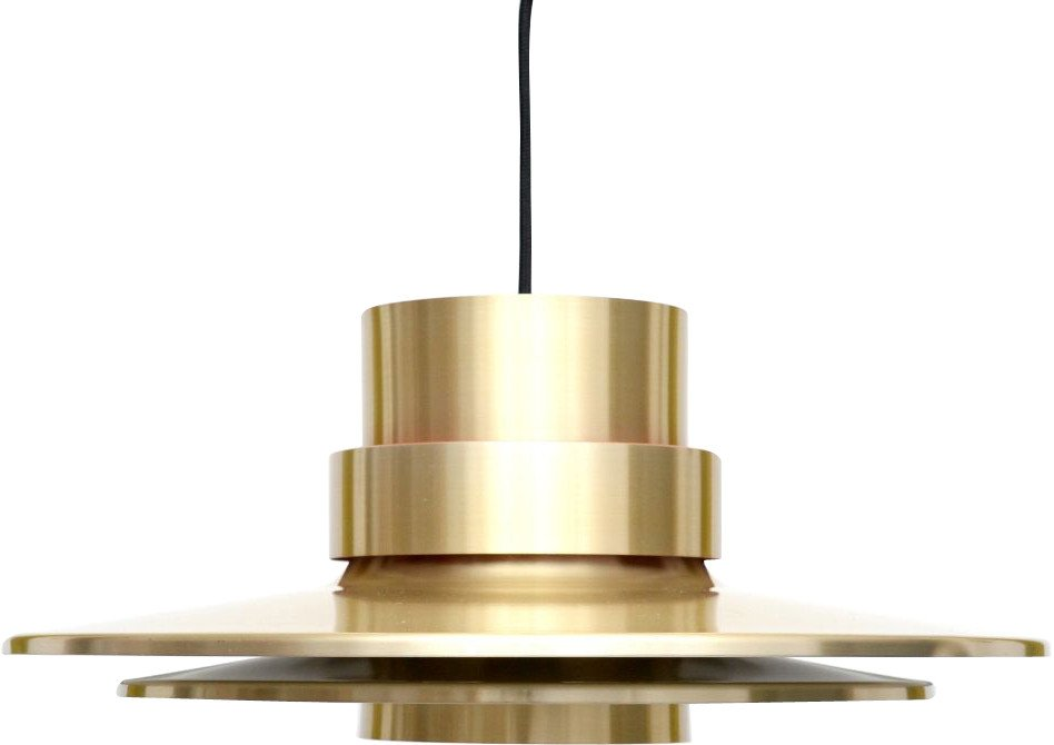 Gold Lamp by C.Thore, Granhaga, Sweden, 1960s
