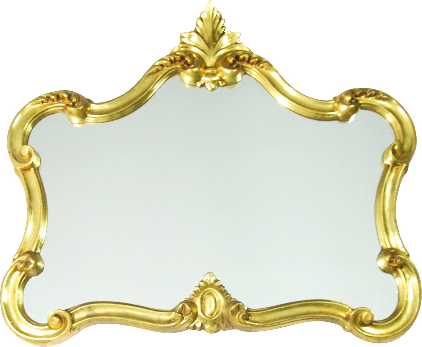 Mirror in Golden Frame, Domiko, Germany, 1970s.